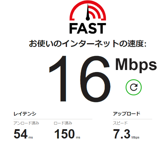 FUJI WiFiの通信速度について