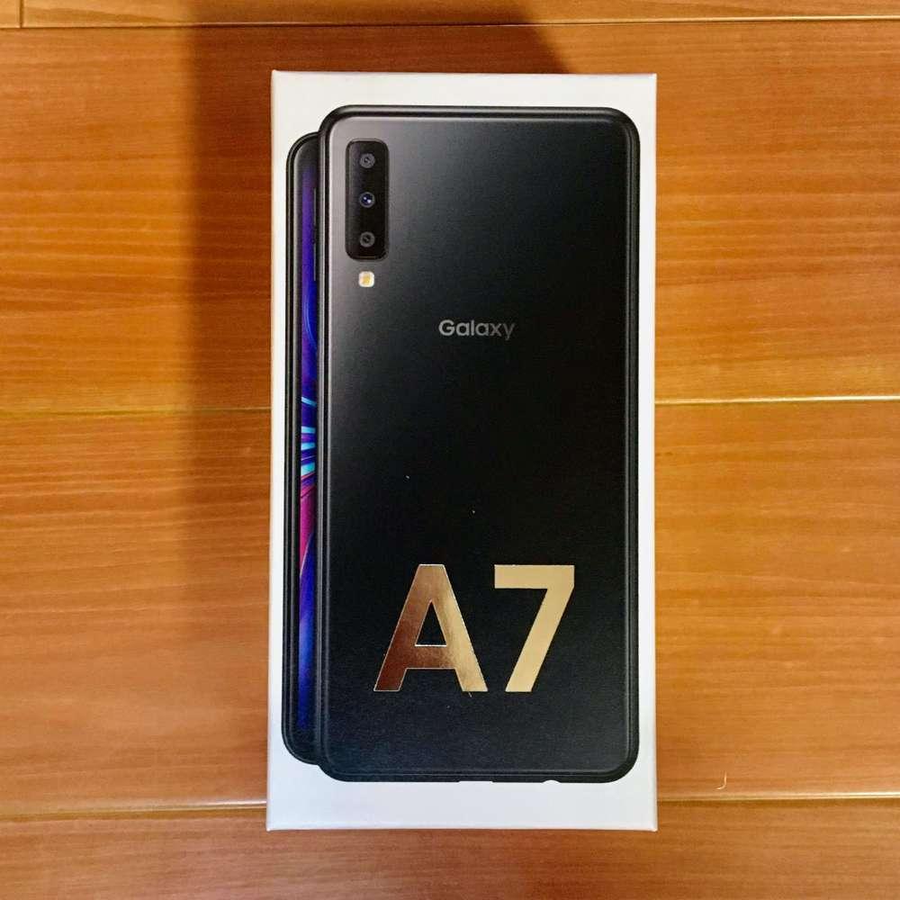 Galaxy A7の箱の中身